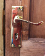 External 5 lever key lock