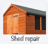 Shed installations and repairs